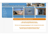 Parker Construction and Machine